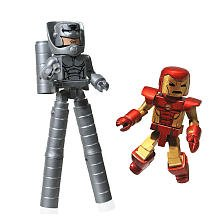 Picture of Diamond Marvel Minimates Collectible Action Figure 2-Pack - Neo Classic Iron Man/Stilt Man (B003VQB9CS) (Iron Man Action Figures)
