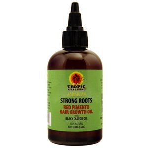 Tropic Isle Strong Roots Red Pimento Hair Growth Oil, 4 Ounce