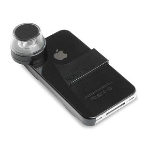 Kogeto Dot - 360 Degree Video Lens Camera For iPhone 4 And 4S - Pitch Black
