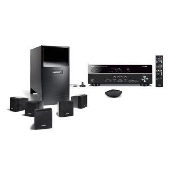 Bose Acoustimass 6 Home Theater System Bundle With Yamaha Receiver