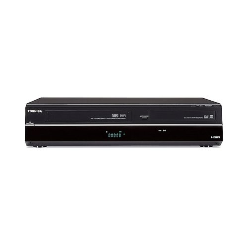 Best Buy! Toshiba DVR620 DVD/VCR Combo DVD+R/RW DVD-R/RW CD-RW VHS - DVD Video Playback CD-DA Playba...
