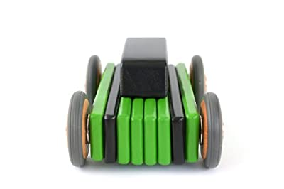 For Sale Hatch Magnetic Tegu Wooden Block Car 15 Piece