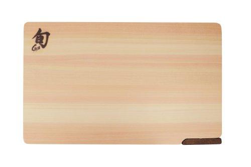 Kai Shun Hinoki Cutting Board With Stand