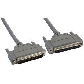 25' Amphenol 37-Pin DB37 Premium Shielded DSub Cable Male/Female