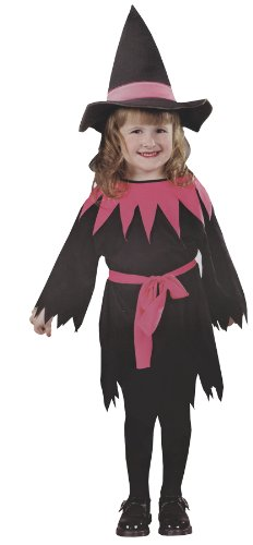 baby-girls - Lil Miss Witch Toddler Costume Halloween Costume