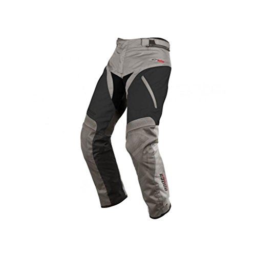 Alpinestars Andes Drystar Pants , Gender: Mens/Unisex, Primary Color: Gray, Size: Md, Distinct Name: Gray/Black, Apparel Material: Textile 3227513-921-M