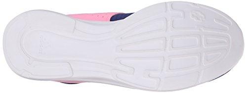 Adidas Performance Women's Lite Slip-On Running Shoe,Raw Purple/Raw Purple/Pink,9.5 M US