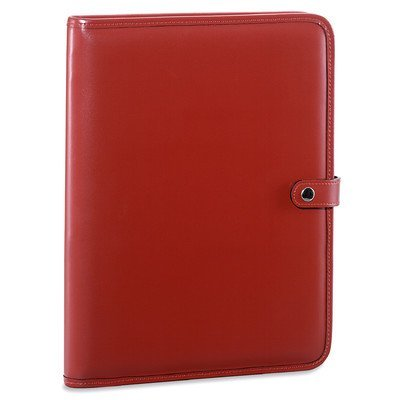 milano-letter-size-writing-pad-with-snap-closure-color-red-by-jack-georges