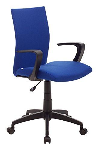 My_office MILANO Poltrona, Poliuretano, Blu, 58x58x99 cm