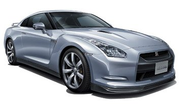 Aoshima 1/24 Nissan R35 GT-R With Engine Left Hand Drive