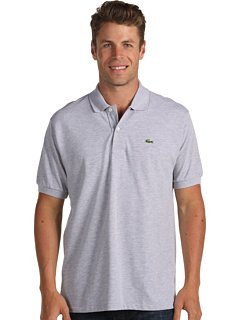 Short Sleeve Classic Chine Pique Polo:Silver Grey Chine(Size S / Eur4)