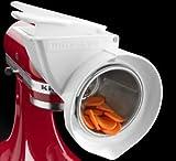 Kitchenaid Rotor Slicer Shredder Stand Mixer Attachment Rvsa Slice Fruits Vegeta One Day Shipping Good Gift Fast Shipping