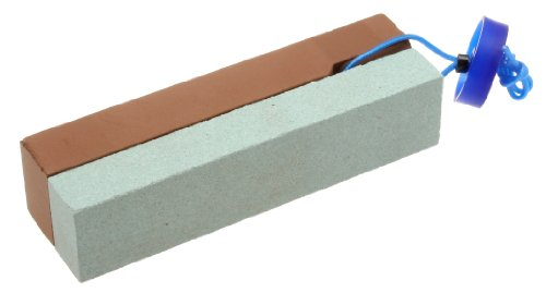 Suehiro 180 And 1000 Grit Japanese Dual Sided Whetstone Knife Sharpener, Mini