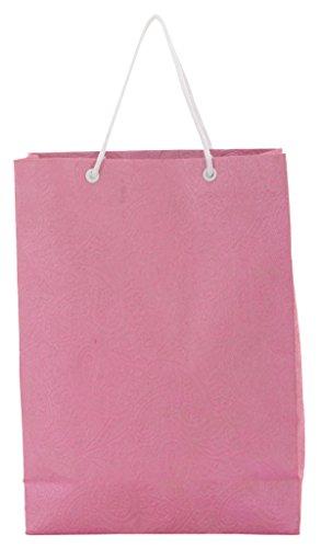 Utsav Kraft Paper 3 Ltrs Pink Reusable Shopping Bags
