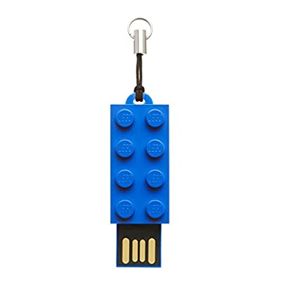 LEGO Brick 16GB USB 2.0 Flash Drive - With Additional LEGO Brick Toy - P-FDI16GLEGOB-GE