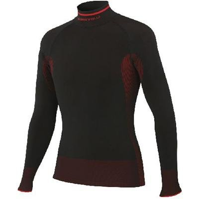 Buy Low Price Castelli 2012/13 Iride Seamless Long Sleeve Cycling Base Layer – A11531 (B005K4DSFA)