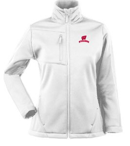 NCAA Wisconsin Badgers Traverse Jacket Ladies by Antigua