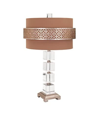 Max & Nellie Mitchell Crystal Table Lamp