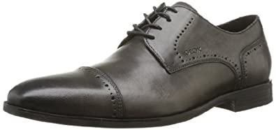 Geox U New Life A, Chaussures basses homme - Gris (Dove Grey), 39 EU