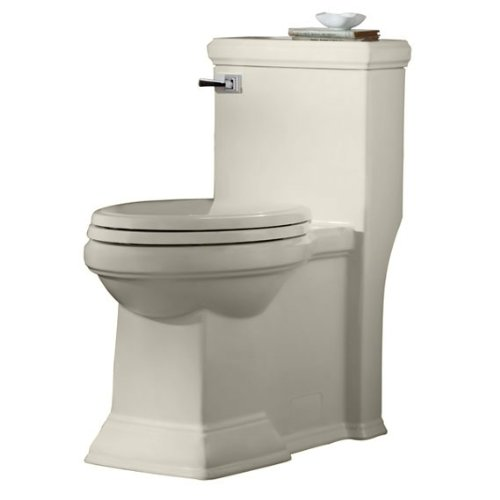 American Standard 2847.128.222 Town Square FloWise RH Elongated One Piece Toilet