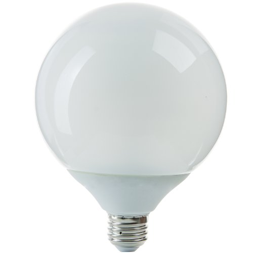 Sunlite SLG23/27K G40 Globe 23 Watt Energy Saving CFL Light Bulb Medium Base Warm White
