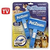 Pet Zoom Self Cleaning Grooming Brush