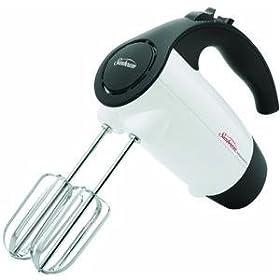 Sunbeam 2526 6-Speed 220-Watt Hand Mixer, White