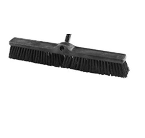 Rubbermaid Commercial 1861212 Executive Series 24-inch Push Broom Head, Rough Surface Heavy-Duty Sweep