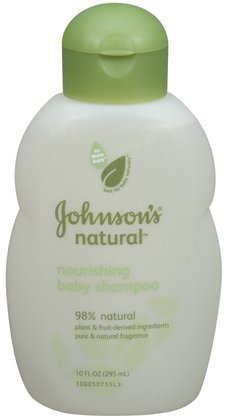Johnson's Baby Natural Shampoo, 10-Ounce (Pack of 2)