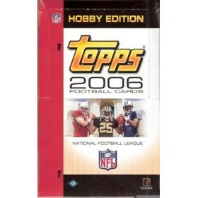 2006 Topps Football Cards Unopened Hobby Pack (12 Cards/Pack - Possible Rookies of Reggie Bush, Matt Leinart, Vince Young, Jay Cutler & more! - Great Idea for Christmas! (Reggie Bush Rookie Card compare prices)
