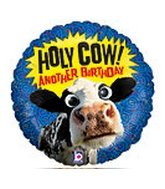 Holy Cow Ballon with Wiggle Eyes
