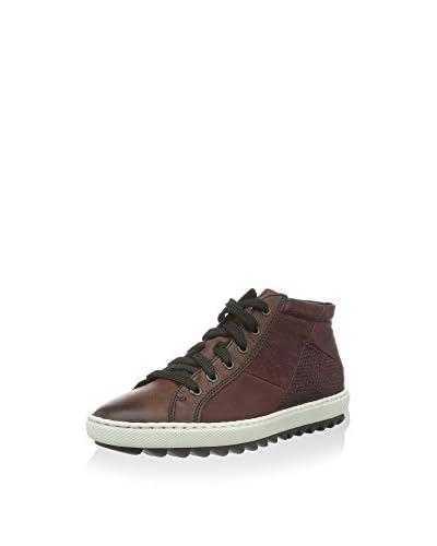 Rieker Hightop Sneaker rot