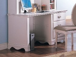Buy Low Price Comfortable Sophie White Computer Desk (B0017LQG2M)