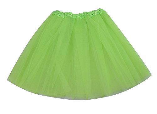 [SUNNYTREE Green Tutu Dance Party Dress Ballet Wrap Skirt for Women Green] (Lyrical Dance Costumes Custom)