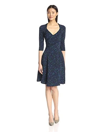 Leota Women's Cropped Sleeve Sweetheart Dress