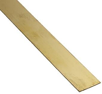 Brass 260 Strip, Half Hard Temper, ASTM B36