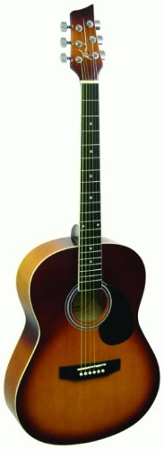 Kona Guitars K391L-Hsb Parlor Series Acoustic Guitar With Precision Enclosed Tuners