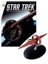 Star Trek Starships Figurine Collection Magazine #34 Vulcan Surak Class