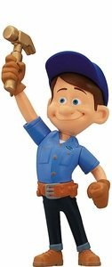 Amazon.com: Thinkway Wreck-It Ralph Action Figure - Fix-It Felix 3