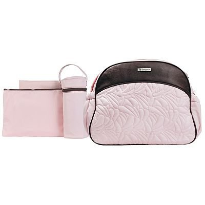 Pink Kalencom Breeze Diaper Bag Set baby gift idea