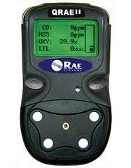 耐水性マルチ型ガス検知機QRAE2拡散タイプ/可燃性ガス 酸素 一酸化炭素 硫化水素の4ガス検知の高機能/防塵IP65規格対応