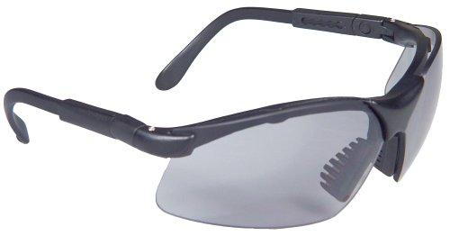 Radians Revelation Protective Shooting Glasses (Light Smoke Lens/Black Frame)