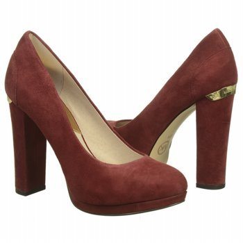 MICHAEL MICHAEL KORS Women's Haven Pump (Cinnabar Suede 6.0 M)
