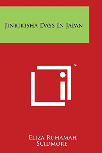 Jinrikisha Days in Japan