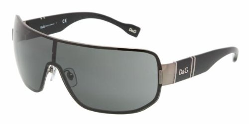 D&G DD6060 079/87 Gunmetal Sunglasses In Metal