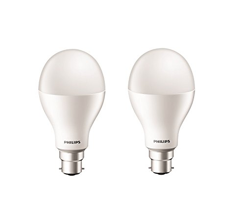 Philips Stellar Bright 20W LED Bulb (Cool Day Light, Pack of 2)