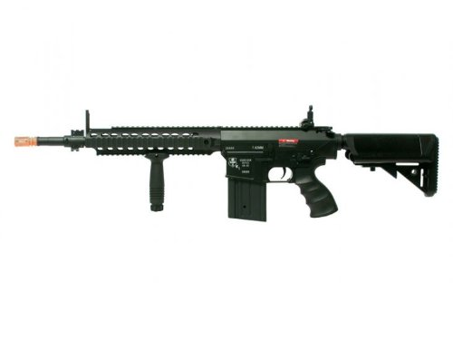 Echo1 USA ER-25K AEG Airsoft Rifle w/Barrel Extension