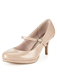 M&S Collection Wide Fit Platform Shoes with Insolia®