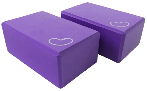 "Bean Products Professional Yoga Block 4"" X 6"" X 9"" - Purple"