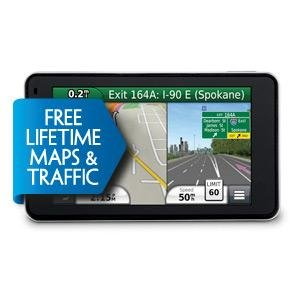 Garmin Nuvi 3490LMT GPS Satnav 4.3 inch screen European maps, Voice activation, Lifetime 3D traffic, Lifetime maps and traffic, Guidance 2, Lane Assist European maps ONLY on this unit! 318L 9k2n7L